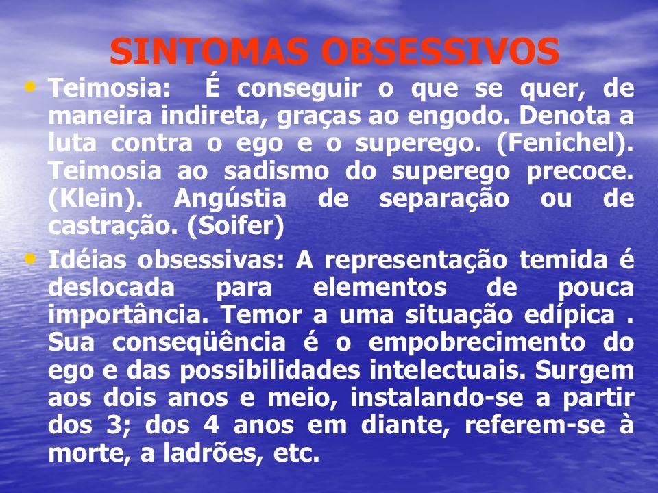 SINTOMAS OBSESSIVOS