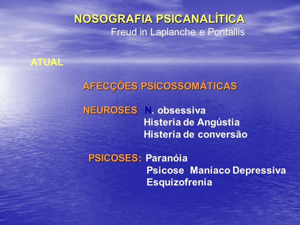 NOSOGRAFIA PSICANALÍTICA