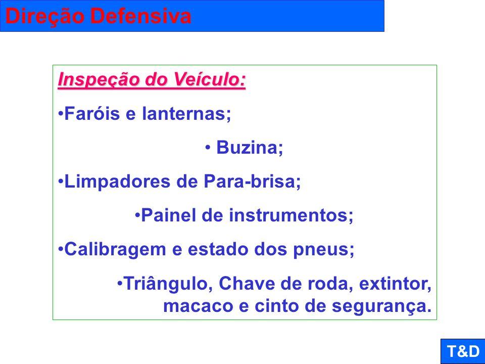 Painel de instrumentos;