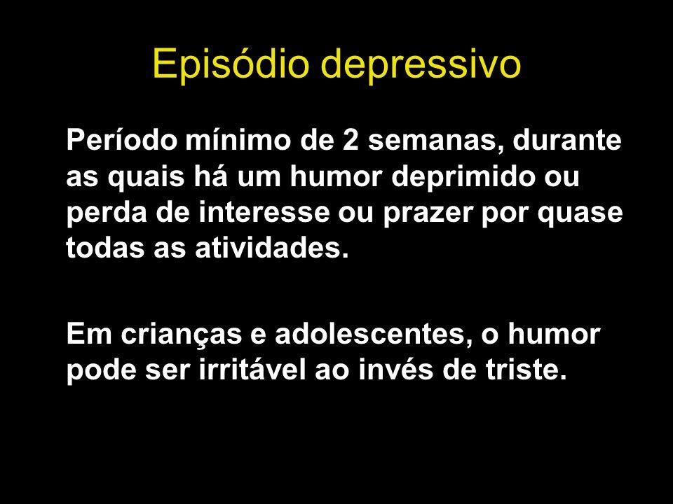 Episódio depressivo