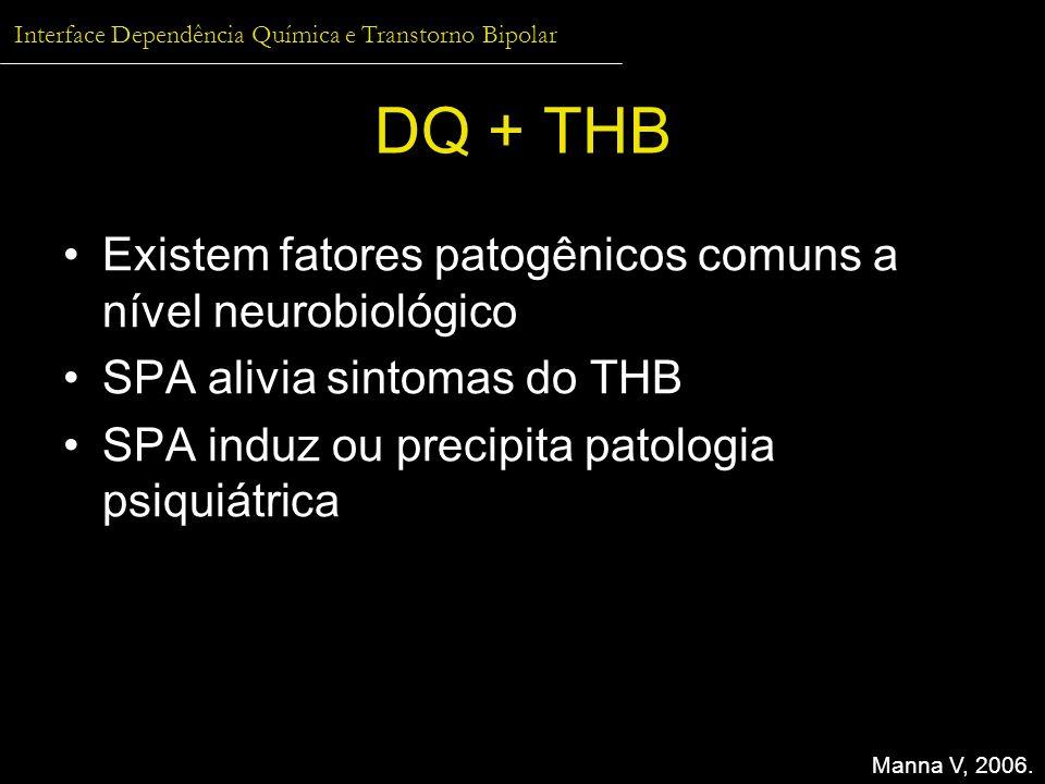 DQ + THB Existem fatores patogênicos comuns a nível neurobiológico