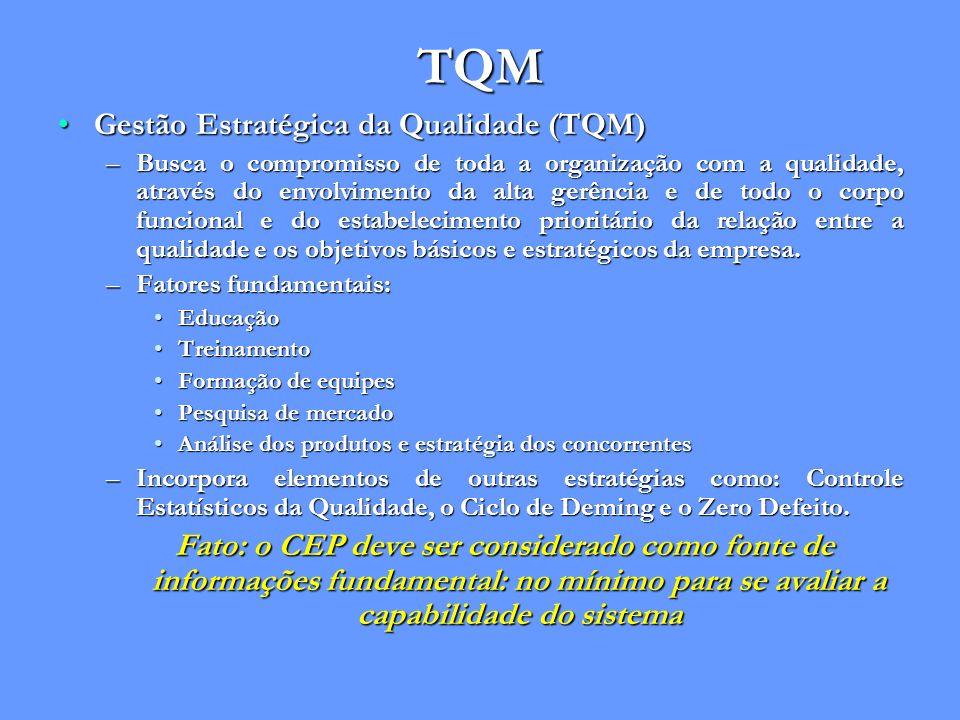 TQM Gestão Estratégica da Qualidade (TQM)