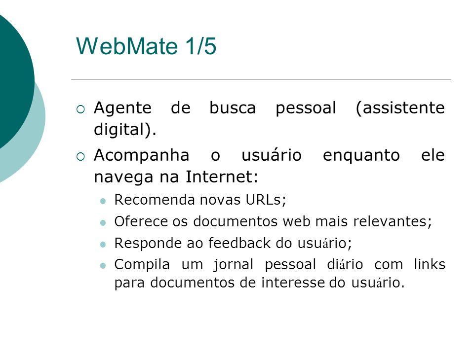 WebMate 1/5 Agente de busca pessoal (assistente digital).