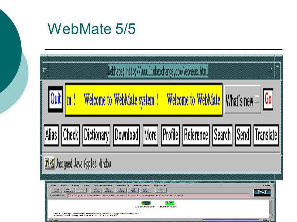 WebMate 5/5 No modo Procura