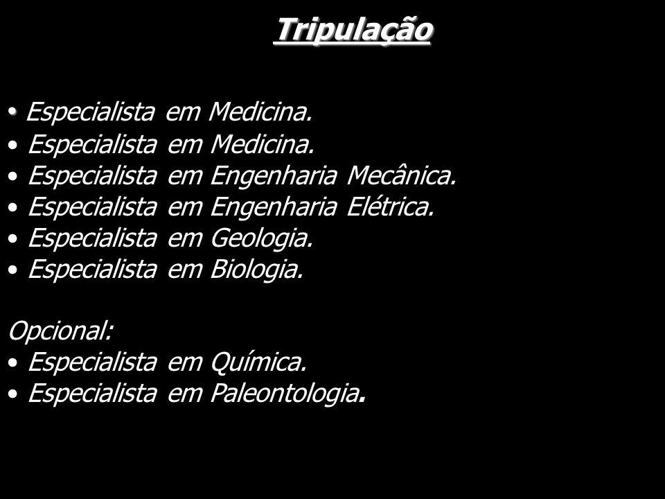 Tripulação Especialista em Medicina.