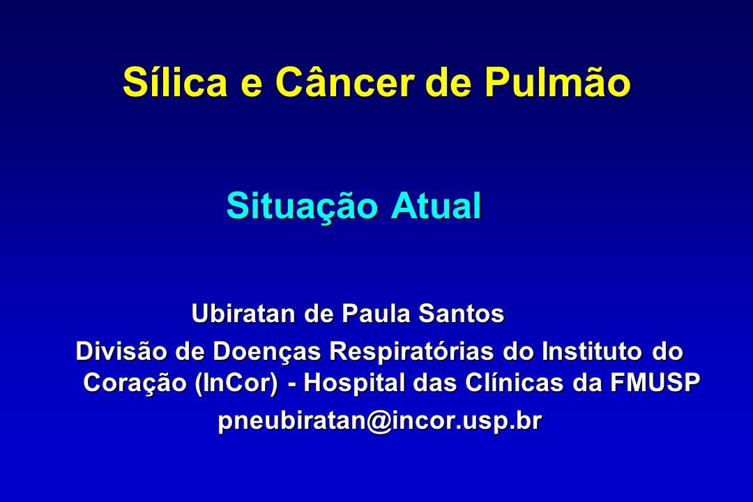 Sílica e Câncer de Pulmão