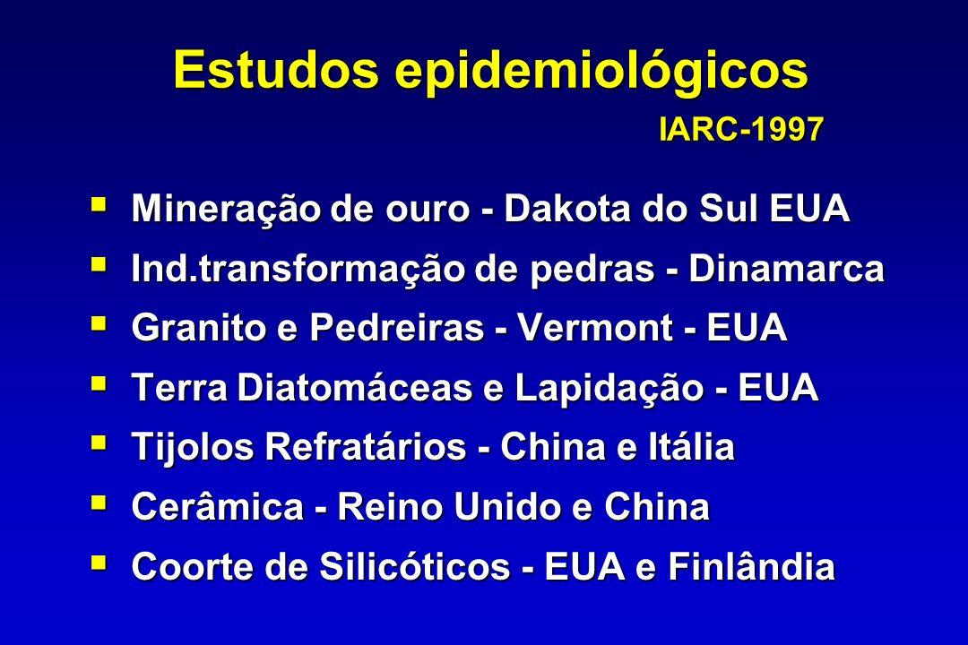 Estudos epidemiológicos IARC-1997