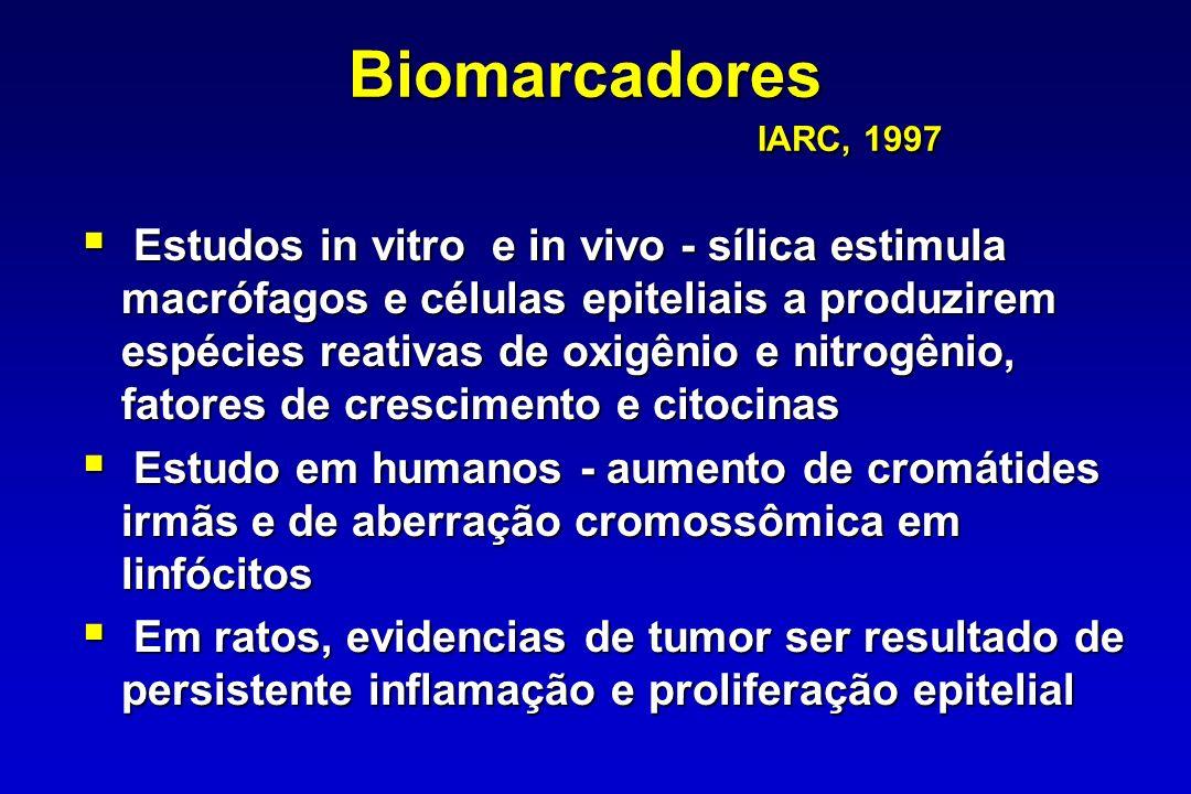 Biomarcadores IARC, 1997