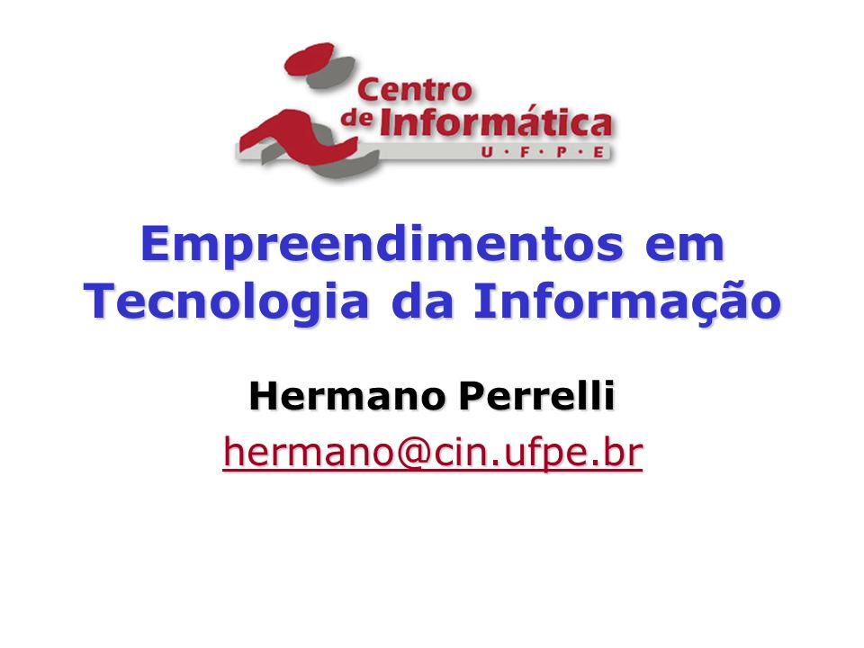 Empreendimentos em Tecnologia da Informação