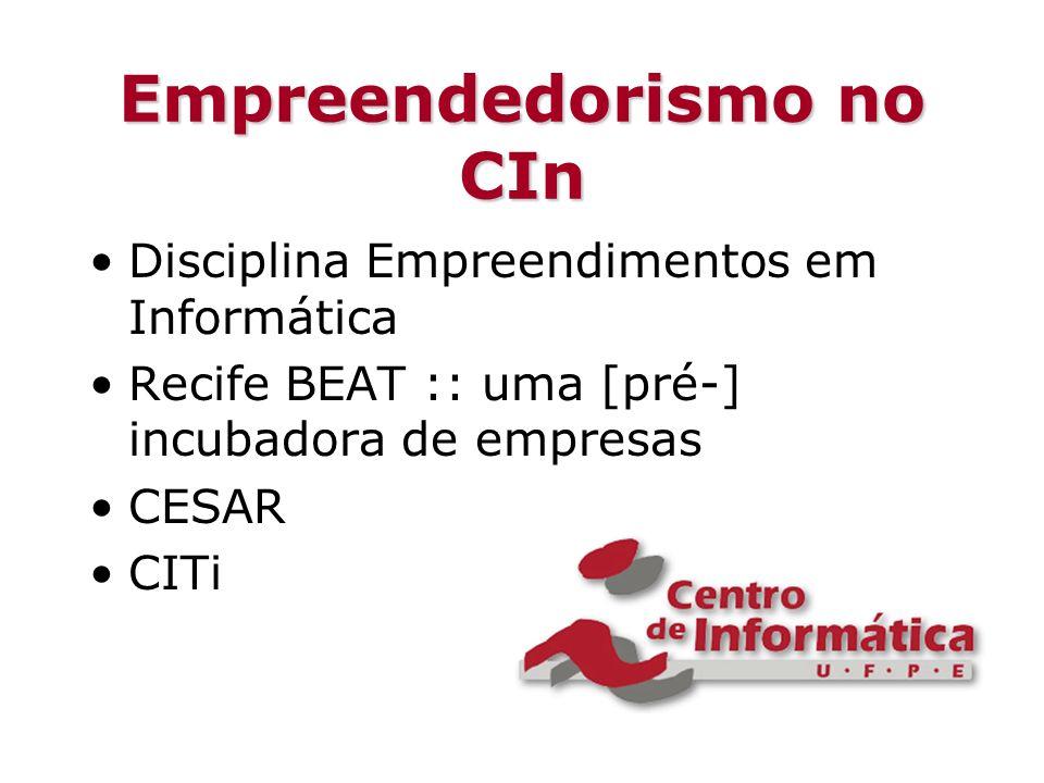 Empreendedorismo no CIn