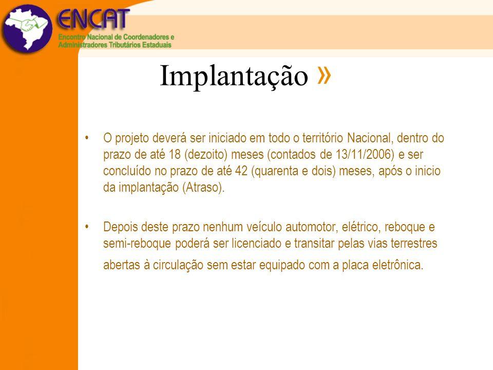 Implantação »