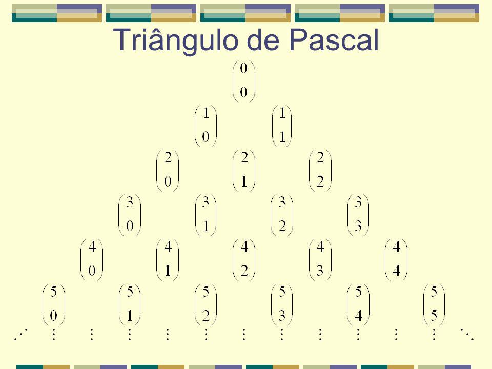 Triângulo de Pascal