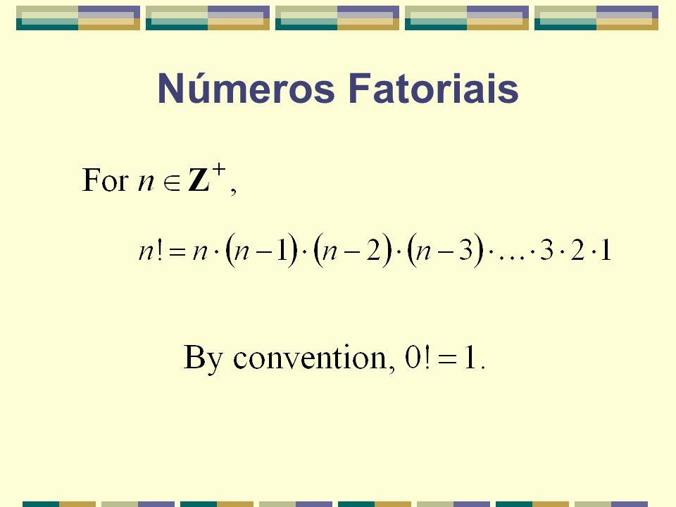 Números Fatoriais