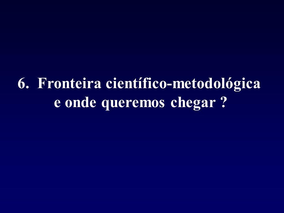 6. Fronteira científico-metodológica