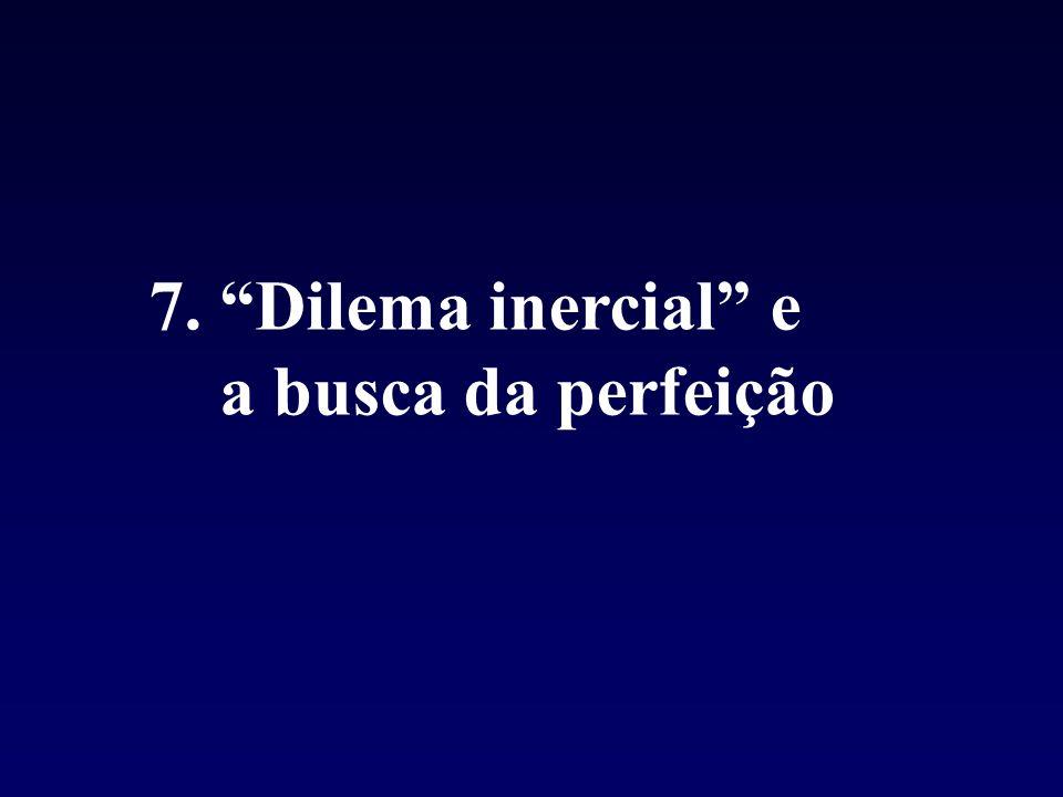 7. Dilema inercial e a busca da perfeição