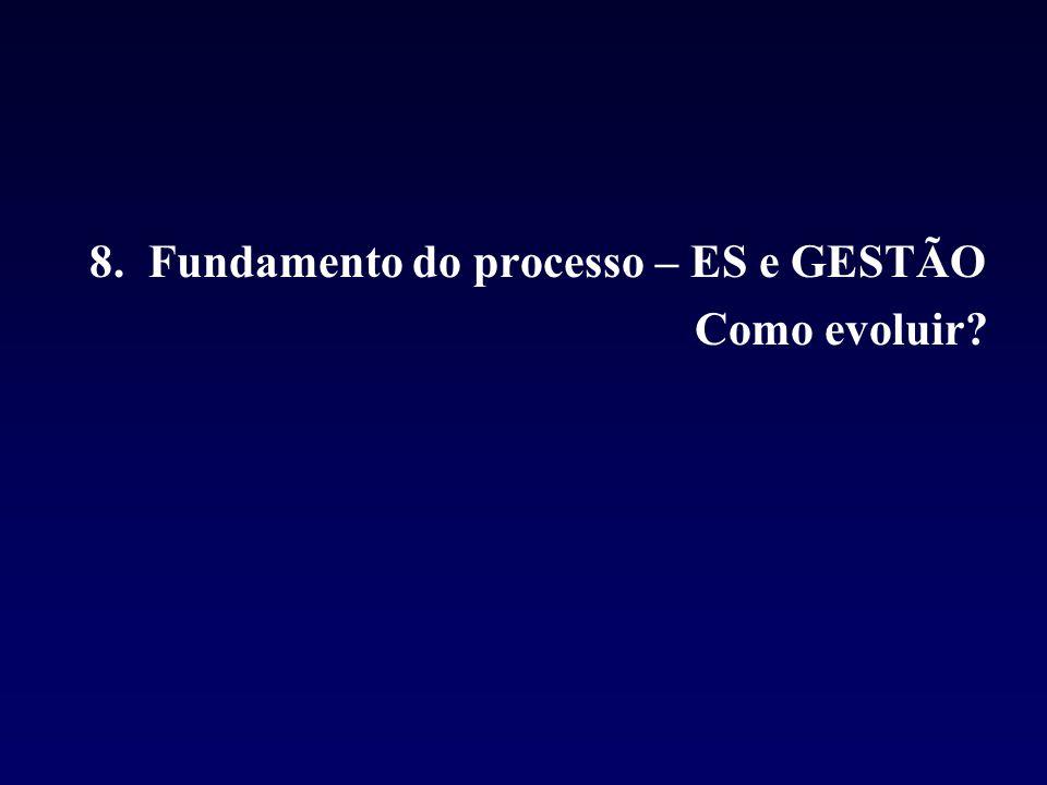 8. Fundamento do processo – ES e GESTÃO