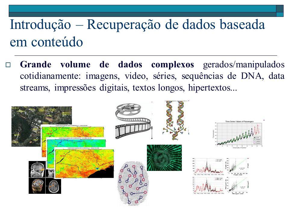 Introdução – Recuperação de dados baseada em conteúdo