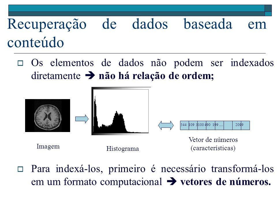 Recuperação de dados baseada em conteúdo