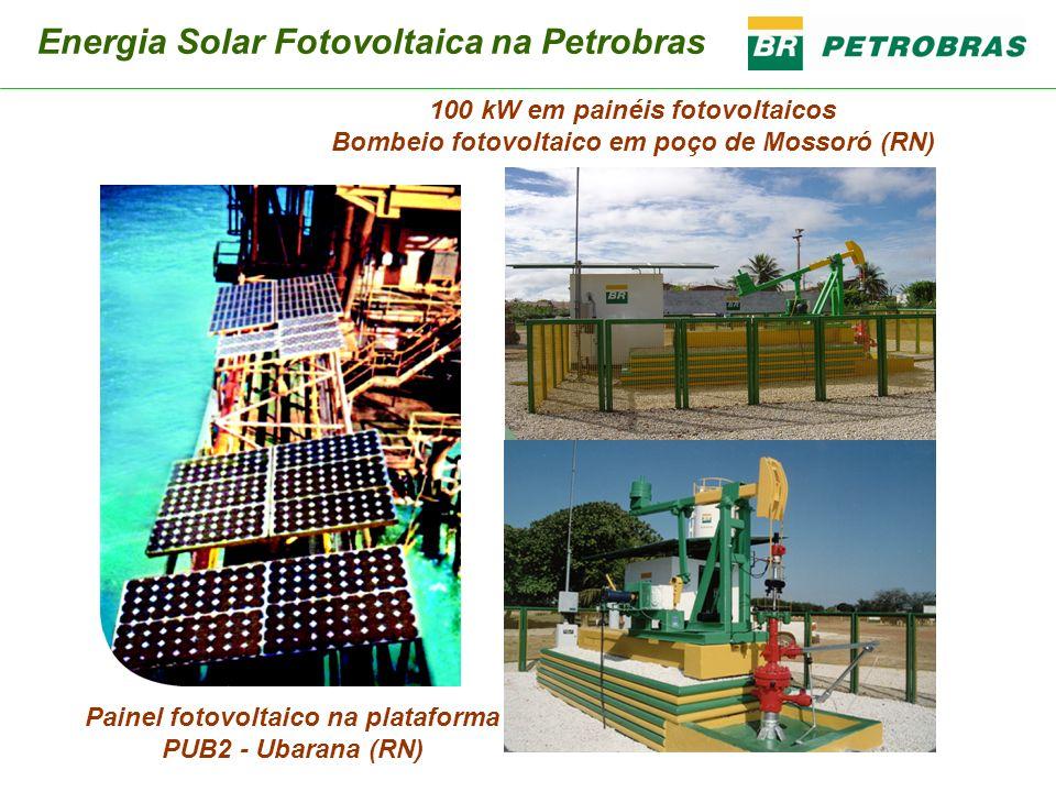 Energia Solar Fotovoltaica na Petrobras