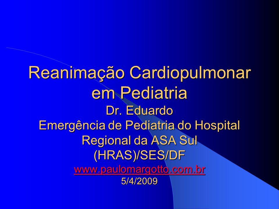 Reanimação Cardiopulmonar em Pediatria Dr