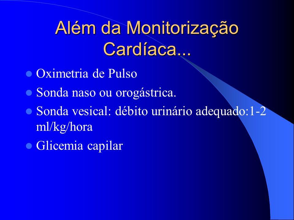 Além da Monitorização Cardíaca...