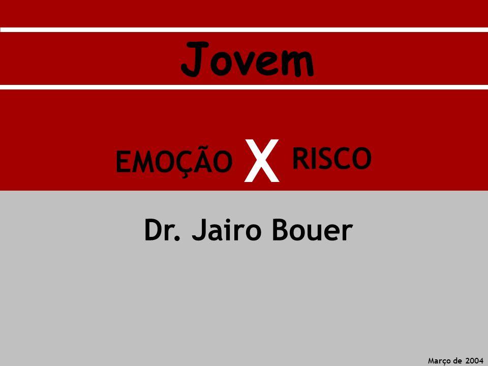 Jovem X RISCO EMOÇÃO Dr. Jairo Bouer Março de 2004