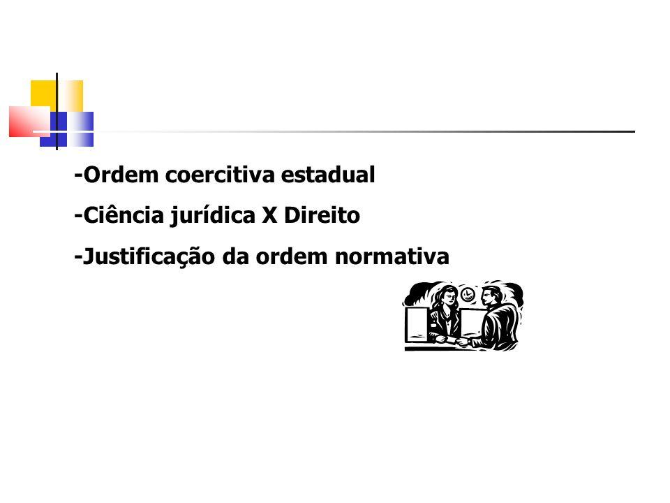 -Ordem coercitiva estadual