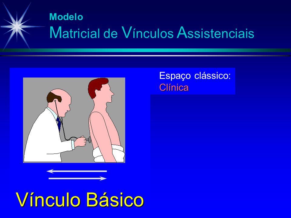 Vínculo Básico Modelo Matricial de Vínculos Assistenciais
