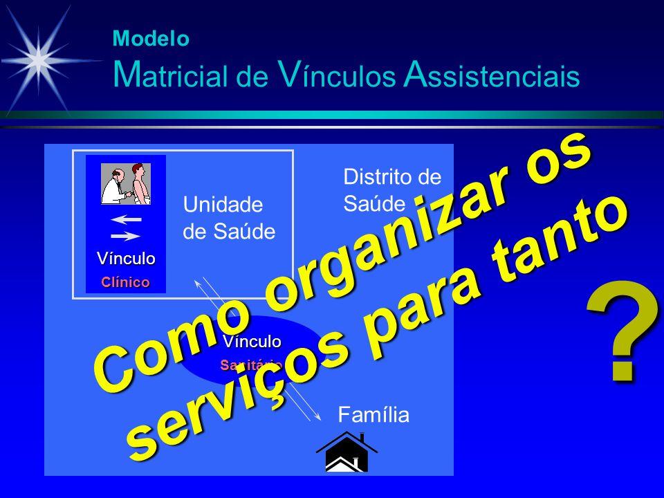 Como organizar os serviços para tanto