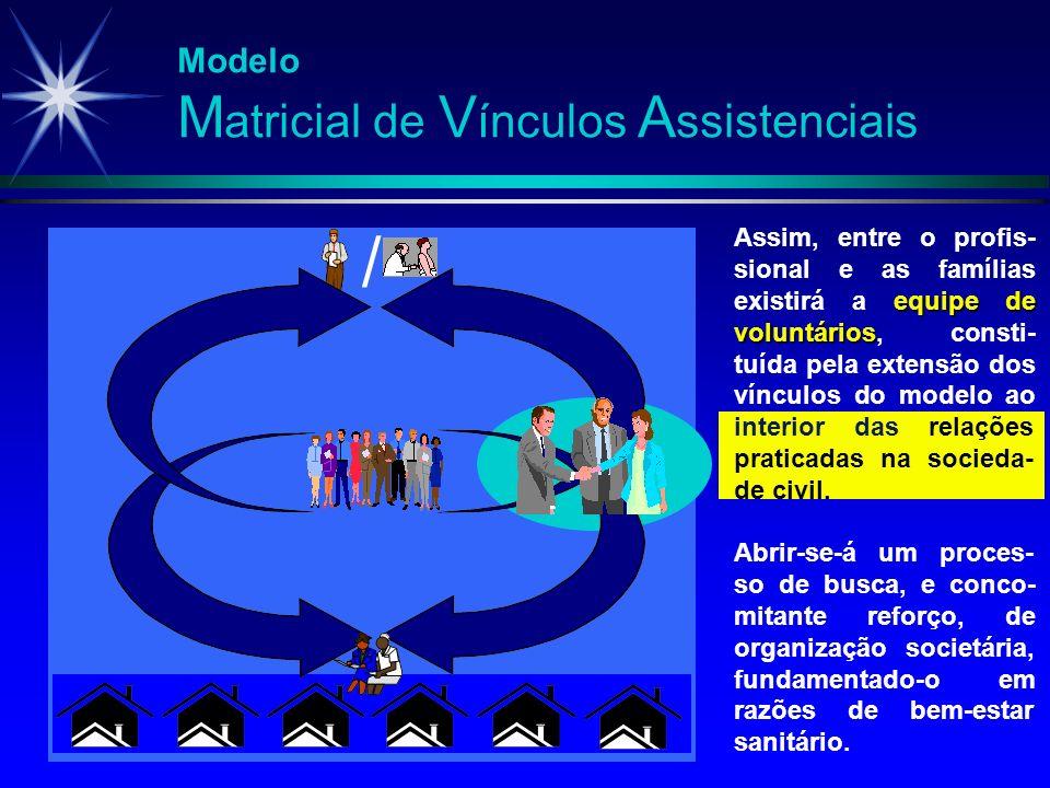 / Modelo Matricial de Vínculos Assistenciais