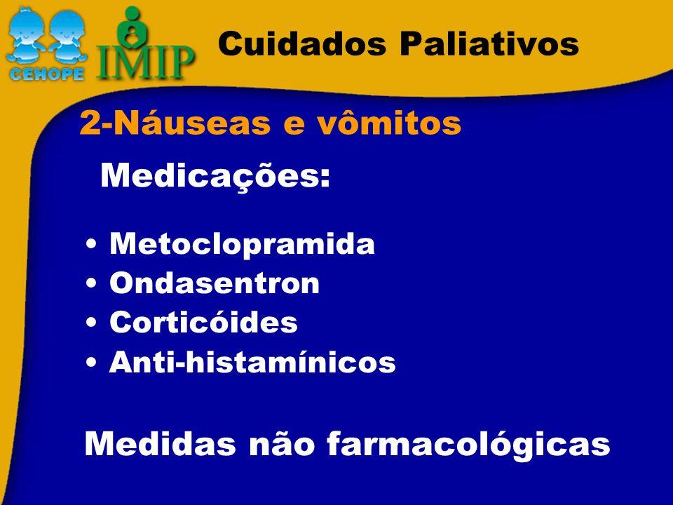 Medidas não farmacológicas