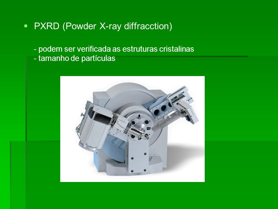 PXRD (Powder X-ray diffracction)