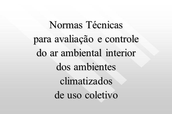 para avaliação e controle do ar ambiental interior dos ambientes