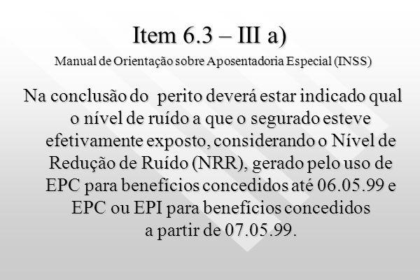Manual de Orientação sobre Aposentadoria Especial (INSS)