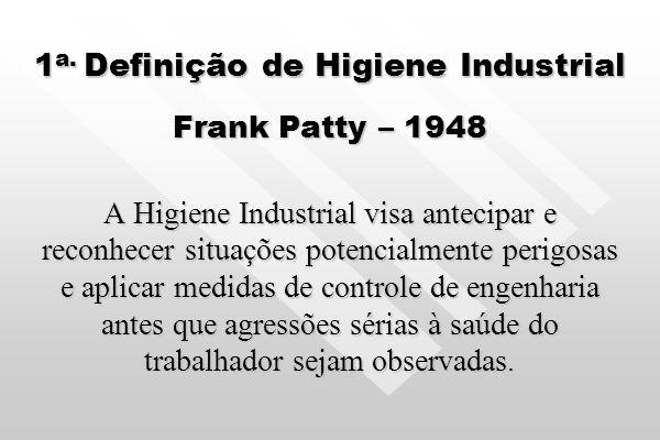 1a. Definição de Higiene Industrial