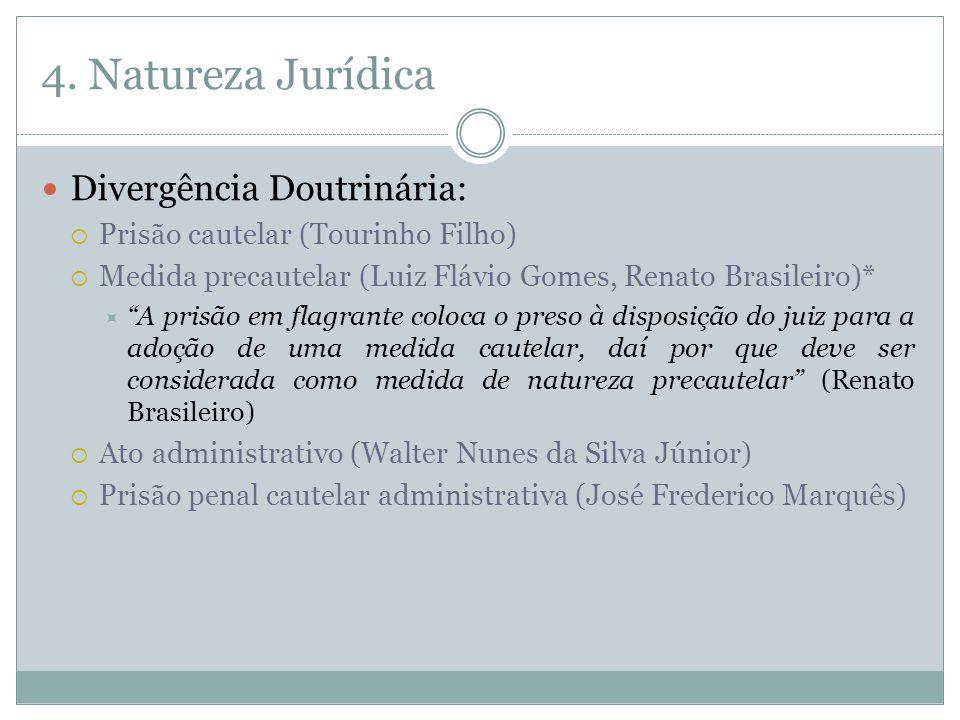 4. Natureza Jurídica Divergência Doutrinária: