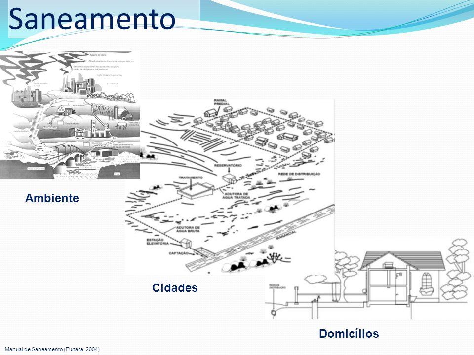 Saneamento Ambiente Cidades Domicílios