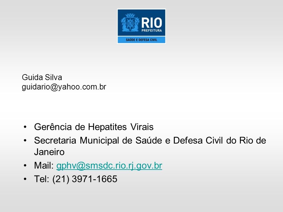 Gerência de Hepatites Virais