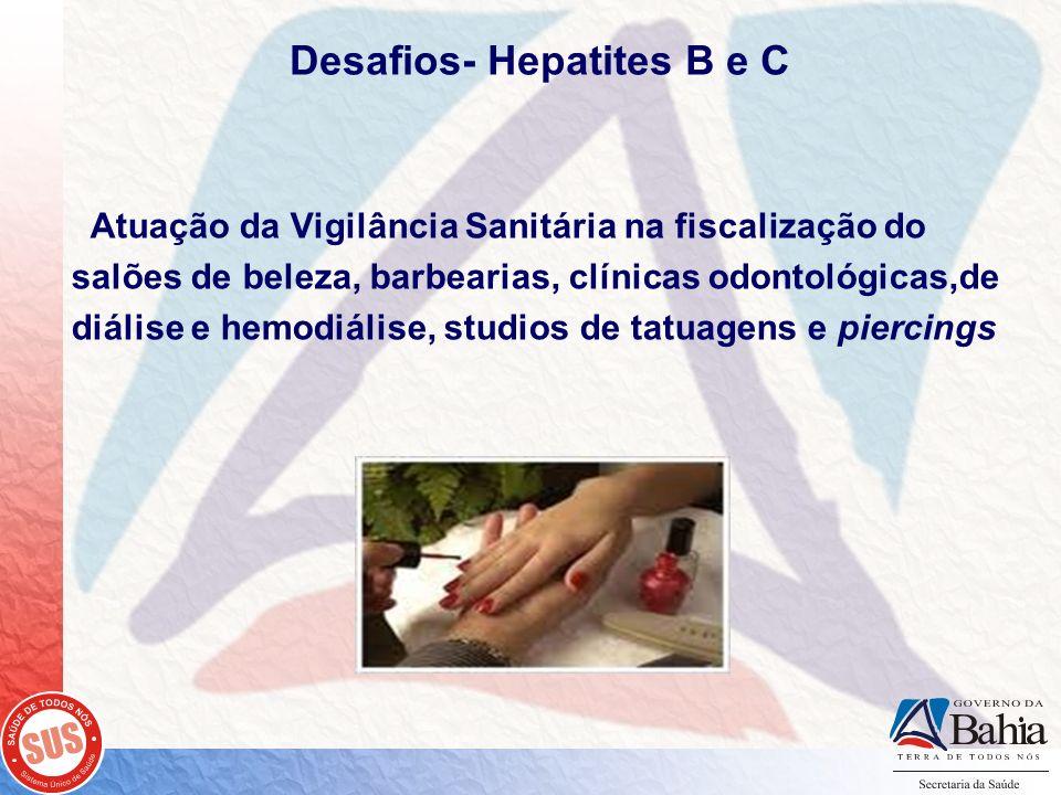 Desafios- Hepatites B e C