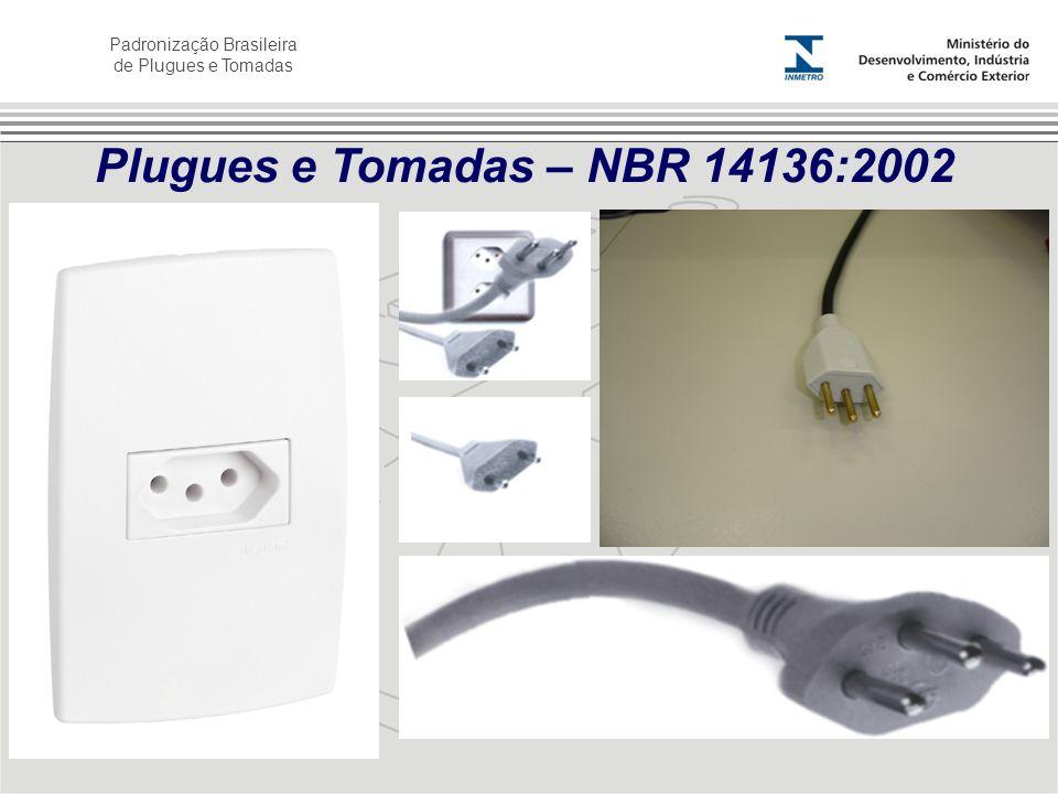Plugues e Tomadas – NBR 14136:2002