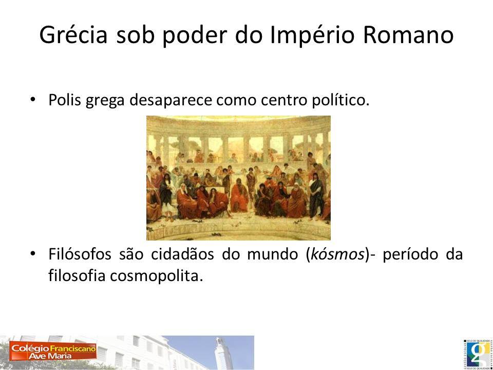 Grécia sob poder do Império Romano