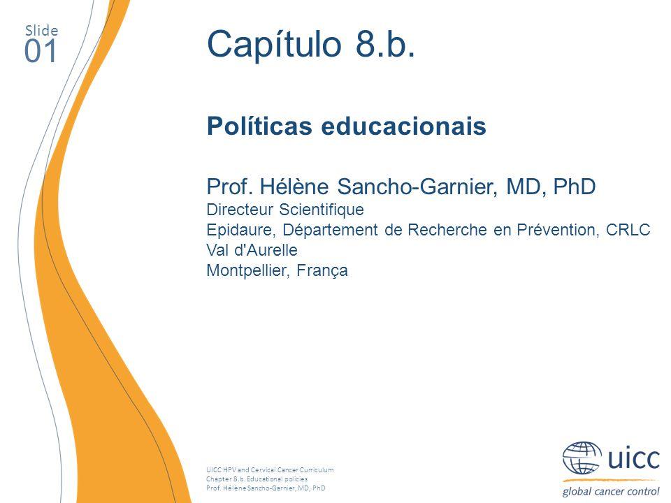 Capítulo 8.b. 01 Políticas educacionais