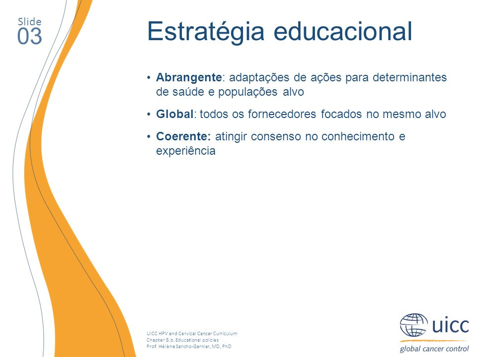 Estratégia educacional