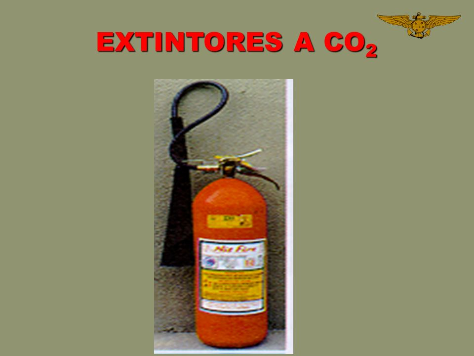 EXTINTORES A CO2
