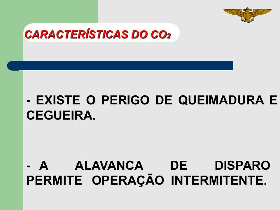 - EXISTE O PERIGO DE QUEIMADURA E CEGUEIRA.
