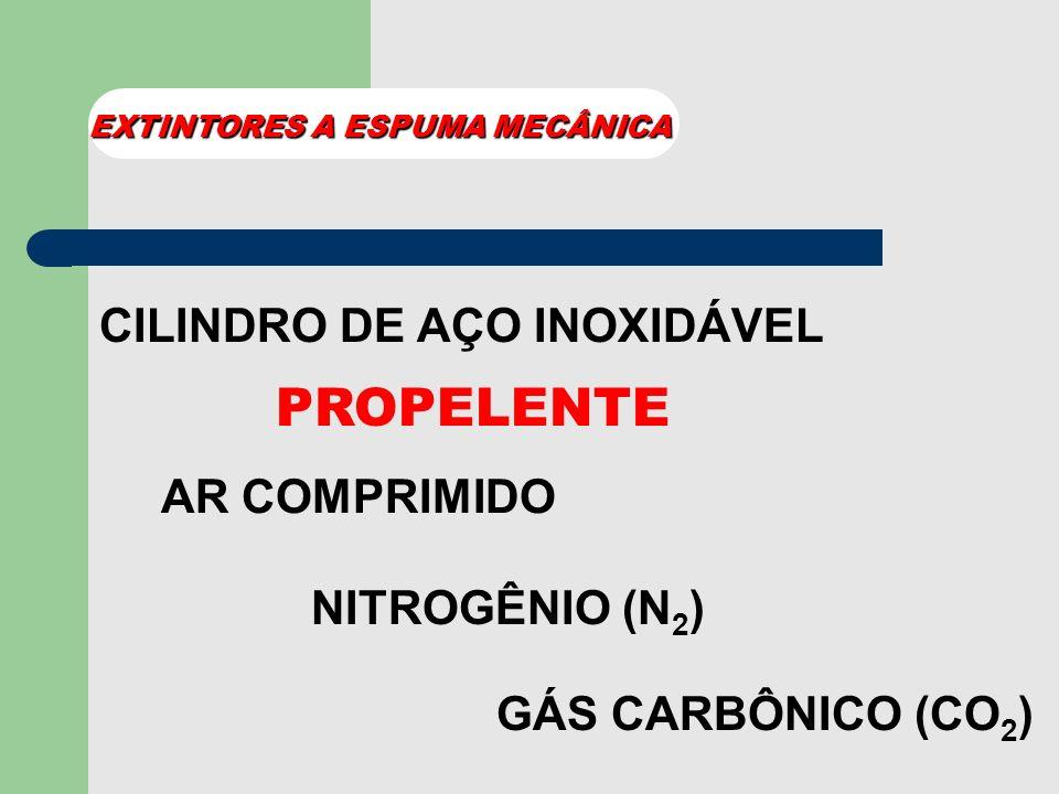 PROPELENTE CILINDRO DE AÇO INOXIDÁVEL AR COMPRIMIDO NITROGÊNIO (N2)