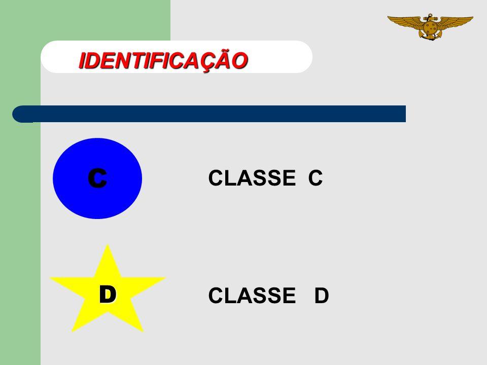 IDENTIFICAÇÃO C CLASSE C D CLASSE D