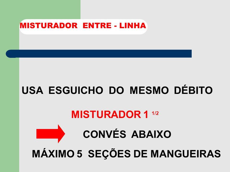 MÁXIMO 5 SEÇÕES DE MANGUEIRAS