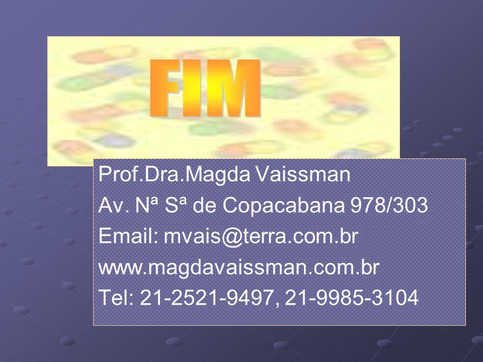 FIM Prof.Dra.Magda Vaissman Av. Nª Sª de Copacabana 978/303