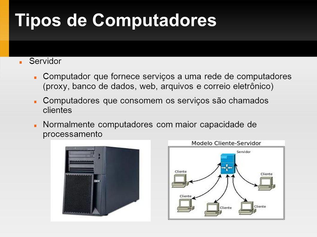 Tipos de Computadores Servidor